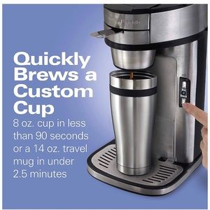 Hamilton Beach Single Serve Coffee Maker ☕️